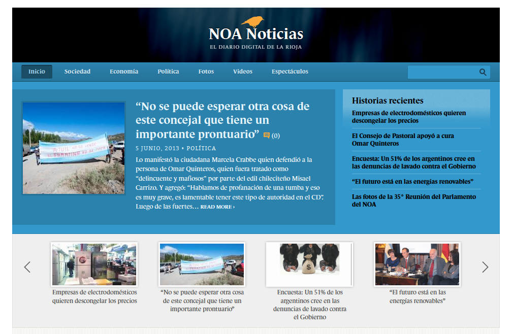 El diario digital de La Rioja