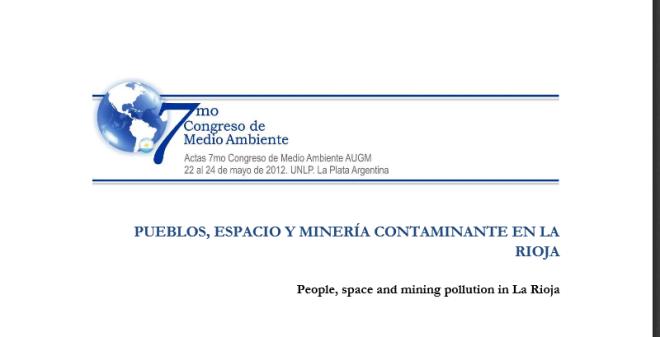 Pueblos, espacio y minería contaminante en La Rioja - 323